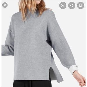 Everlane The Luxe Double Knit Mockneck Sweater